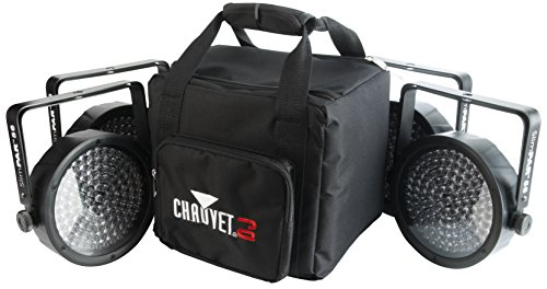 CHAUVET DJ SlimPACK 56 LT - 4 SlimPAR 56 Wash Lights & 3 DMX Cables w/CHS-SP4 VIP Gear Bag | LED Lighting by CHAUVET DJ