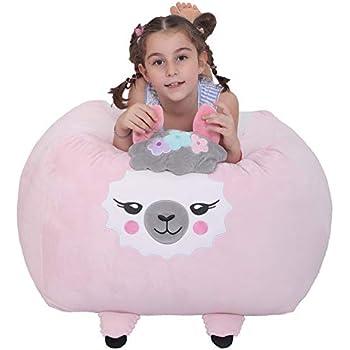 Awesome Amazon Com Unicorn Stuffed Animal Toy Storage Large Size Creativecarmelina Interior Chair Design Creativecarmelinacom