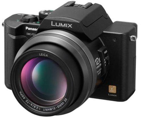 Panasonic LUMIX DMC-FZ10-K ブラックの商品画像
