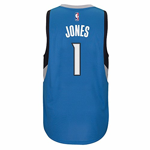 Mens Minnesota Timberwolves Tyus Jones Nba Adidas Swingman Blue Away Jersey  Size Large