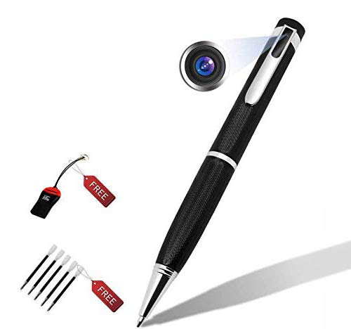Hidden Spy Camera 1080P Mini Pen Covert Security Camera/Nanny Camcorder with Motion Detection