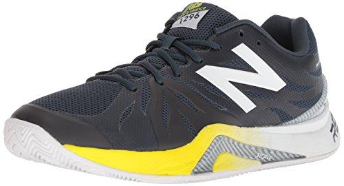 New Balance Men's 12962 Hard Court Running Shoe, Dark Green, 7 D US (Tennis New Apparel Balance)