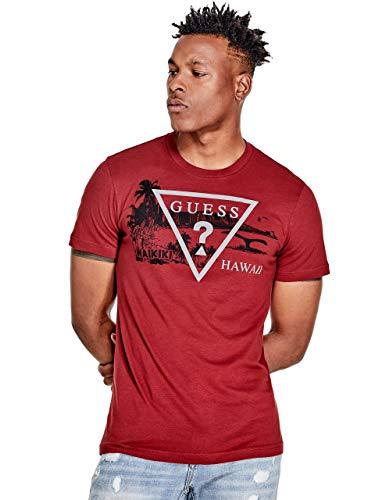 Men's Hawaii Triangle Logo Crewneck Short Sleeve Tee