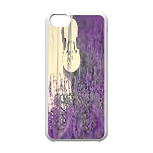 Lavender Customized Case for Iphone 5C, New Printed Lavender Case