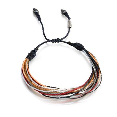 Men's and Women's Multistrand String Beach Bracelet with Hem