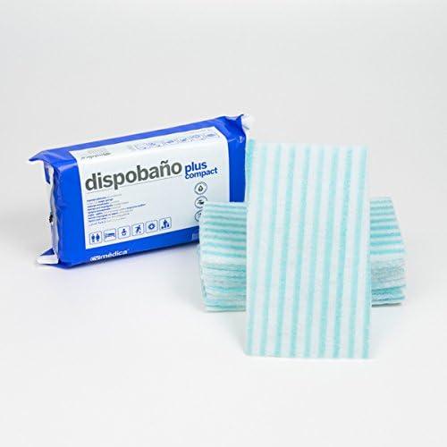 Esponja jabonosa desechable para pieles sensibles, 12x20 cm. Pack de 10 uds.: Amazon.es: Salud y cuidado personal
