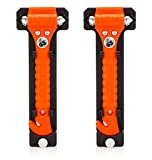 Original Life Hammer Escape Hammer (Orange), 2 Pack