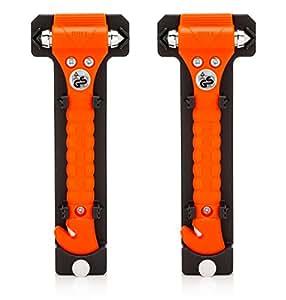 Original Life Hammer Escape Hammer (Orange), 2 Pack