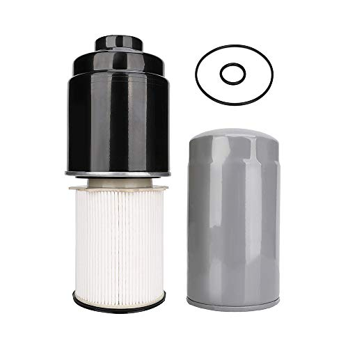 Diesel Fuel Filter, Oil Filter, Water Separator Kit Fits for 2013-2018 Dodge Ram 2500/3500 / 4500/5500 6.7L Cummins Diesel Engine Trucks Replace # 68197867AB / 68157291AA / 5083285AA