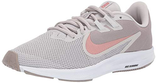 Nike Women's Women's Downshifter 9 Shoe, vast Grey/Rust Pink - Pumice-White, 10 Regular US