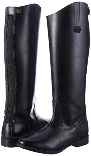 HKM–Botas de equitación New General estándar Negro negro Talla:41 UE Negro - negro