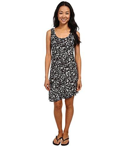 Women's Olena Dress Black Flower Dress XL