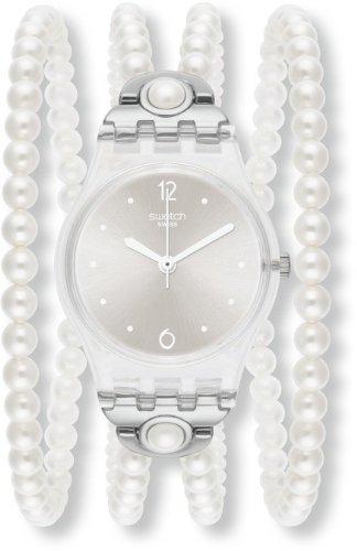 orologio swatch con perline