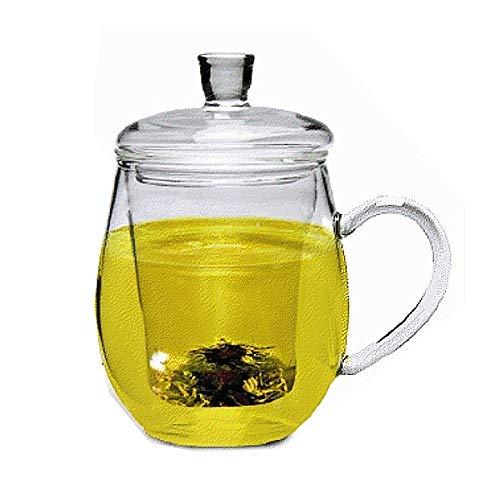 Sun's Tea (TM) 12oz Personal All Glass Made Tea Infuser & Mug (Teapot)
