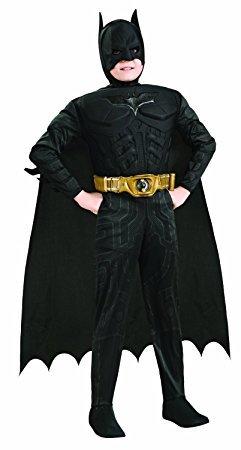 Evolution'sBatman Dark Knight Rises Child's Deluxe Muscle Chest Batman Large Size Halloween Costume