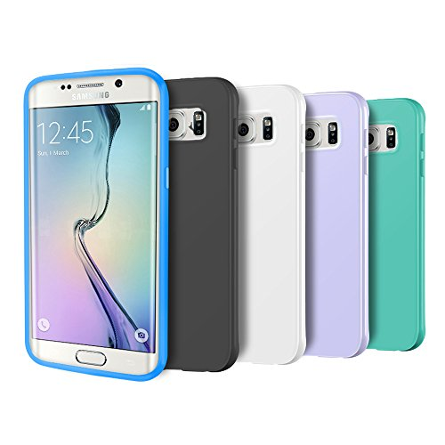 Slim Fit Protective Case for Samsung Galaxy S6 edge (Black) - 9