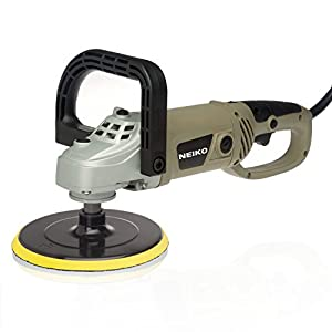 Neiko 10671A 7-Inch Electric Polisher and Buffer | 6 Variable Speeds | UL/CUL Listed