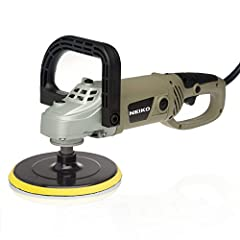 "The niko 7"" Variable speed Polisher is ideal for a desired finish on different materials and applications."