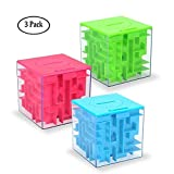 Money Maze Puzzle Box, Twister.CK Money Holder Puzzle for Kids and Adults Birthday