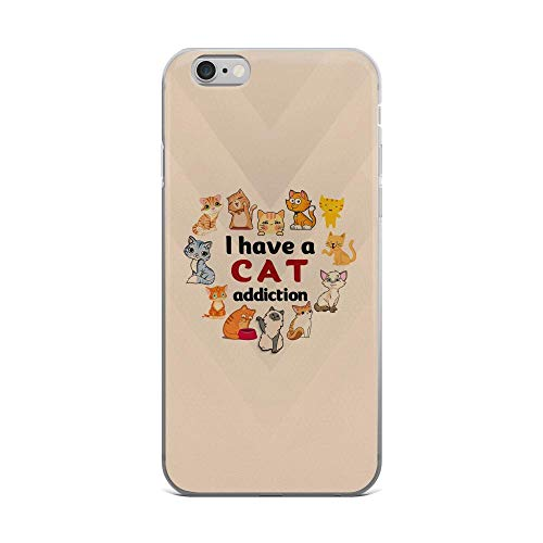iPhone 6 Plus/6s Plus Pure Clear Case Cases Cover You May Say I'm a Dreamer but Im Not The Only One Vintage Cute Squirrels in The Van