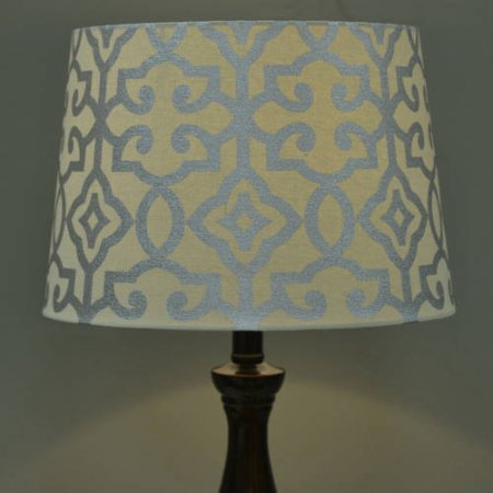Better Homes and Gardens Irongate Lamp Shade - multi-color (SILVER LEAF FOIL)