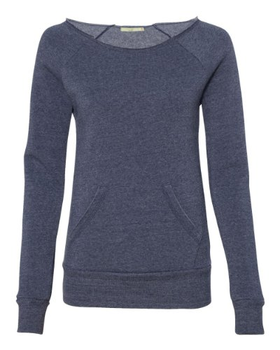 (Alternative - Ladies' Maniac Eco Fleece Sweatshirt - 9582 - Eco True Navy - Small)