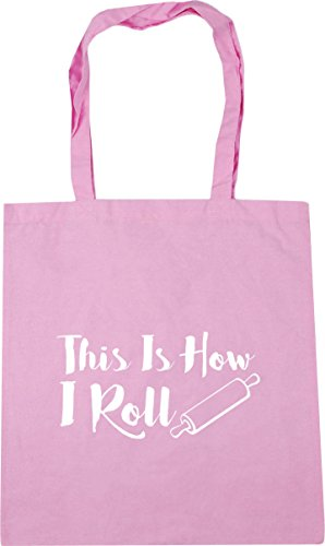 x38cm Classic Roll 42cm This HippoWarehouse Is 10 Bag litres Shopping Gym I Beach Pink How Tote wqPIPx6