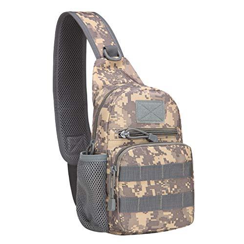 Acushuma Hommes Sac Militaire Casual Pour Portable Pack Bronzer Chest Sling Bouilloire Bandoulière Camouflage Épaule À Tactical ttaqxrwpZ