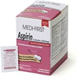 Medique Products 80548 Medi-First Aspirin, 250 Tablets, 125 X 2