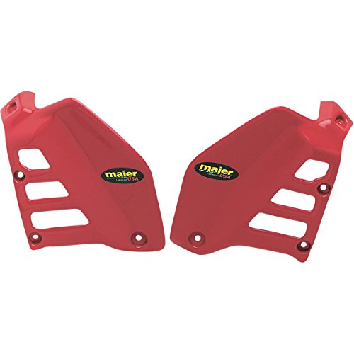 Maier 580022 Red Radiator Air Scoop for Honda ATC250R - - Air Scoop Radiator