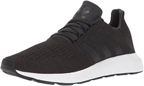 adidas Originals Men's Swift Run Shoes,carbon/core black/medium grey heather,13 M US