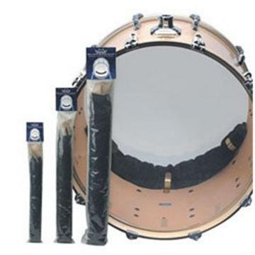 REMO Hardware Package, Bass Muffle Strip, Black, For 20'' Diameter Drum