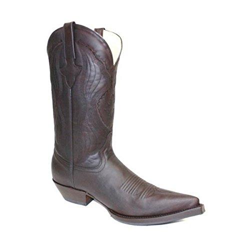 GO'WEST Women's Boots Dark Brown r08OG86fc