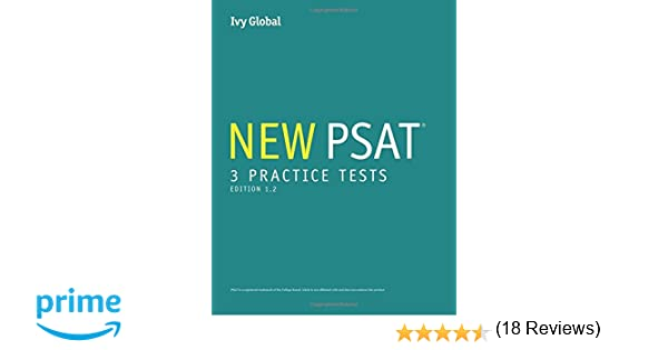 3 New PSAT Practice Tests (Prep book), 2016 Edition, Edition 1.2 ...