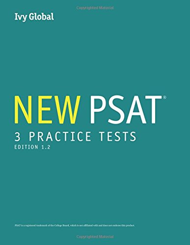 3 New PSAT Practice Tests (Prep book), 2015 Edition