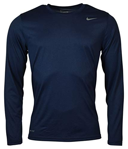 Nike Mens Longsleeve Legend - Navy - XL
