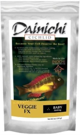 DAINICHI CICHLID VEGGIE FX *250g*BABY sinking dainichi ...
