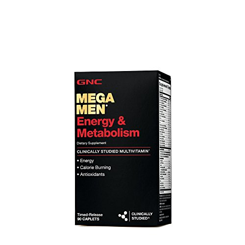 GNC Mega Men Energy Metabolism 90 Caplets by GNC