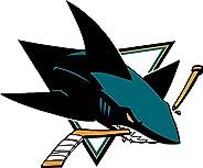 "San Jose Sharks NHL Hockey Car Bumper Sticker Decal 5"""