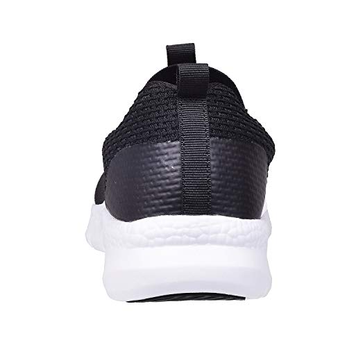 Hsyooes Women Wedges Tennis Rocker Shoes Walking Sports Shoes Lightweight Sneakers Air Cushion Slip On Fitness Shoes