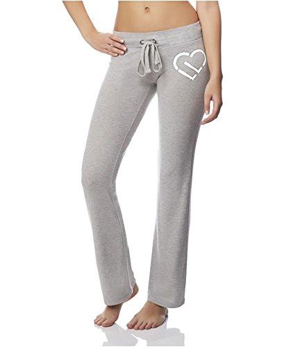 Aeropostale Womens Skinny Stretch Athletic Track Pants Grey M/32 - Juniors