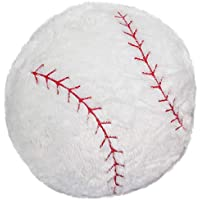 CatchStar Stuffed Baseball Pillow Plush Fluffy Ball Throw...