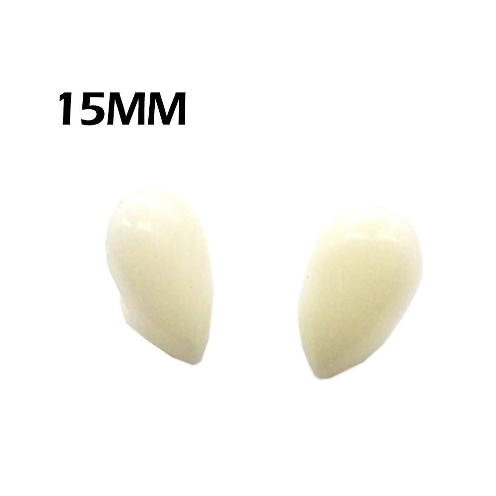 MatureGirl Vampire Teeth Fangs Dentures Props Halloween Costume Props Party Favors (15MM)