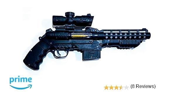 MRM Pistola ELECTRICA con LUZ Y Sonido: Amazon.es: Juguetes y juegos