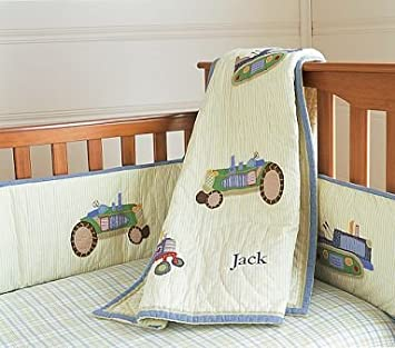 Pottery Barn Kids Tractor Nursery Bedding