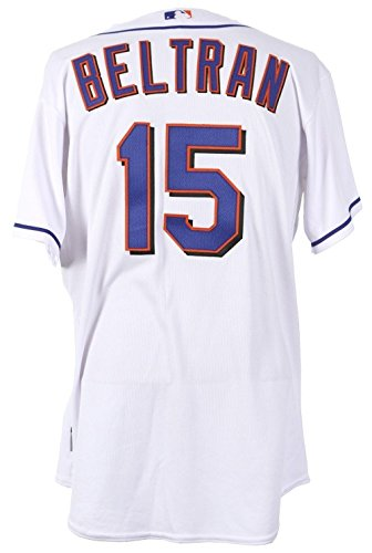 2010 Carlos Beltran New York Mets Game Used Jersey MLB Authenticated&Mears COA – MLB Game Used Jerseys
