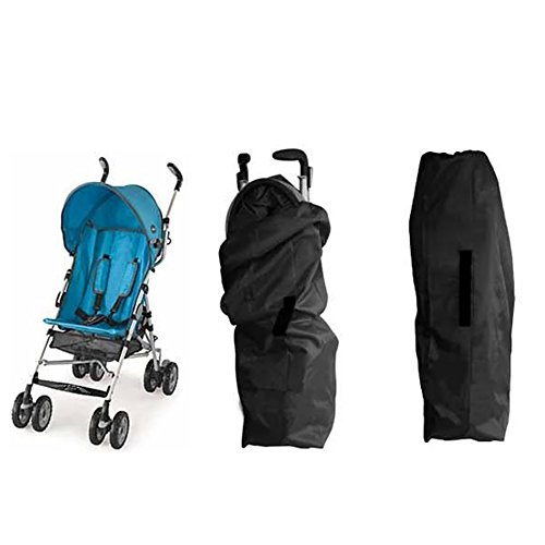 QILOVE Stroller Travel Bag For Standard and Umbrella Stroller Baby Travel Bag Buggy Cover Case Airlines, Train Baggage For Protecting Strollers from Dirt and Bacteria etc (Umbrella stroller) (Baby Travel Trolley compare prices)
