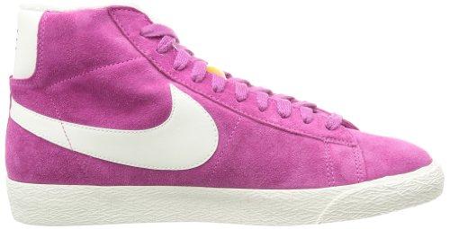 Nike Blazer mid suede vintage 518171604, Baskets Mode Femme