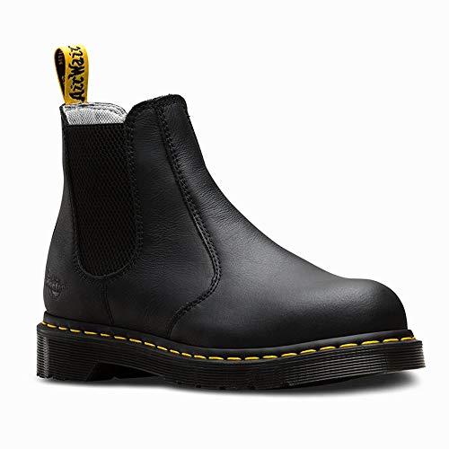 Dr. Martens - Women's Arbor Steel Toe Light Industry Boots, Black, 9 M US