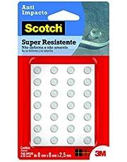Protetor Anti-Impacto 3M Scotch Redondo Extra Pequeno - 28 unidades